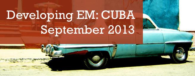 81. Developing EM, Cuba, 2013