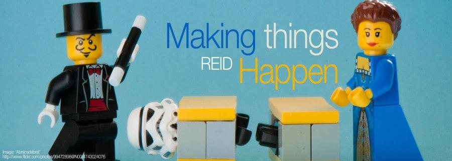 SMACC: Reid on Making Things Happen