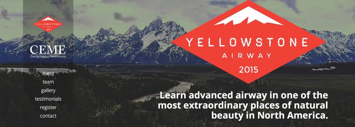 yellowstone airway