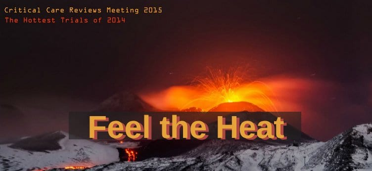 Critical Care Reviews Meeting 2015