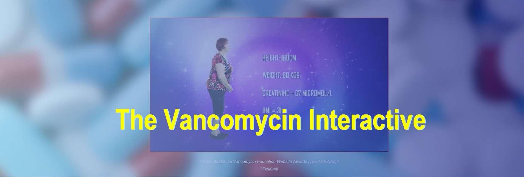 Vancomycin interactive