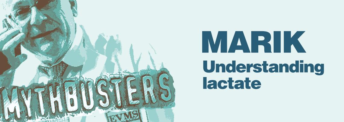 Paul Marik - Understanding Lactate