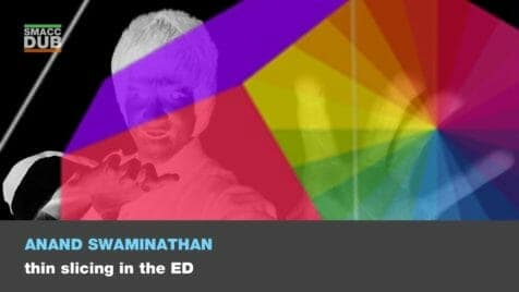 swaminathan thin slicing in the ED