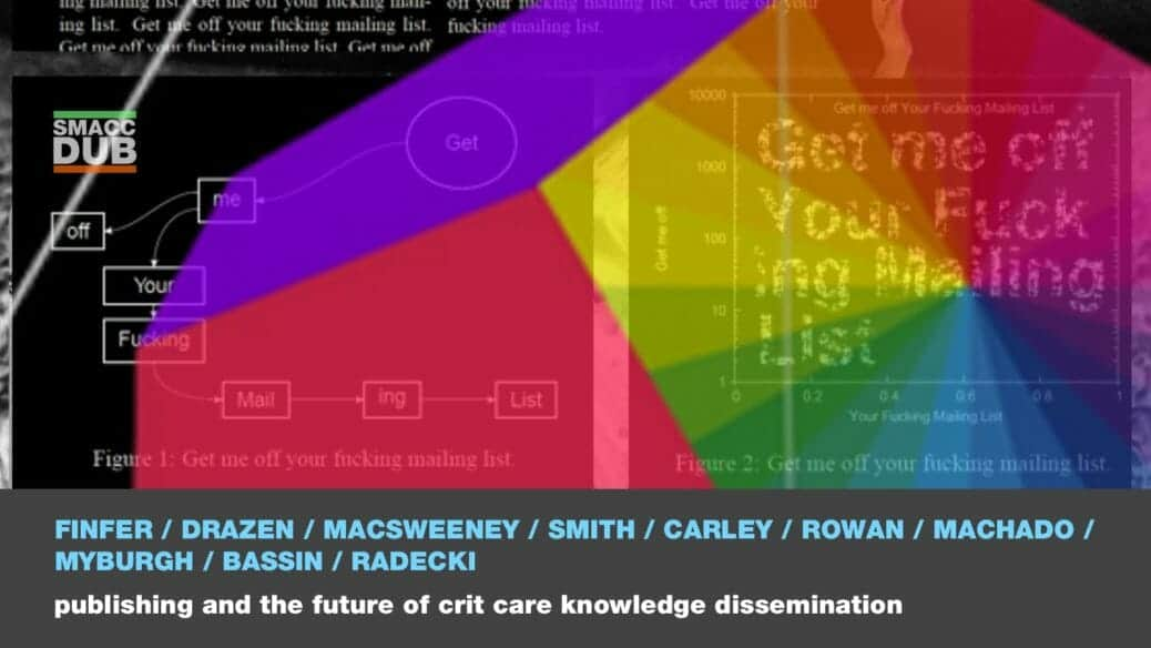 Publishing and the future of critical care knowledge dissemination