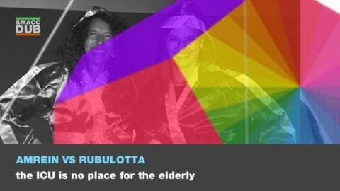 Amrein vs Rubulotta - The ICU is no place for the elderly
