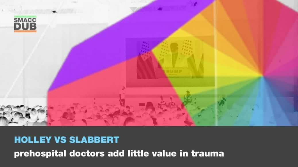 Holley Slabbert - Prehospital doctors add little value in trauma