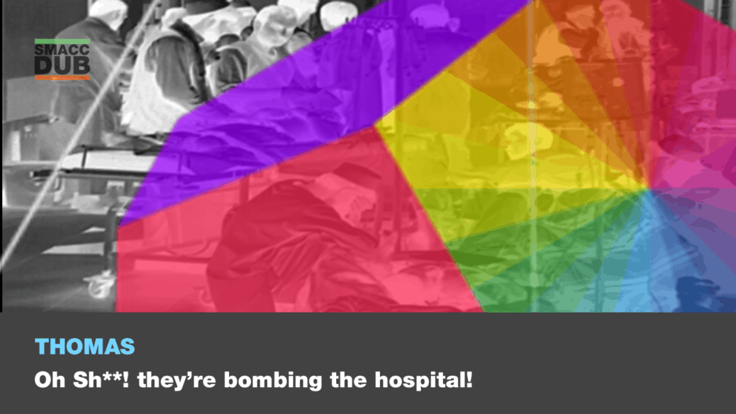 Thomas - Oh s**t, they're bombing our hospital! Is this a new paradigm for war?