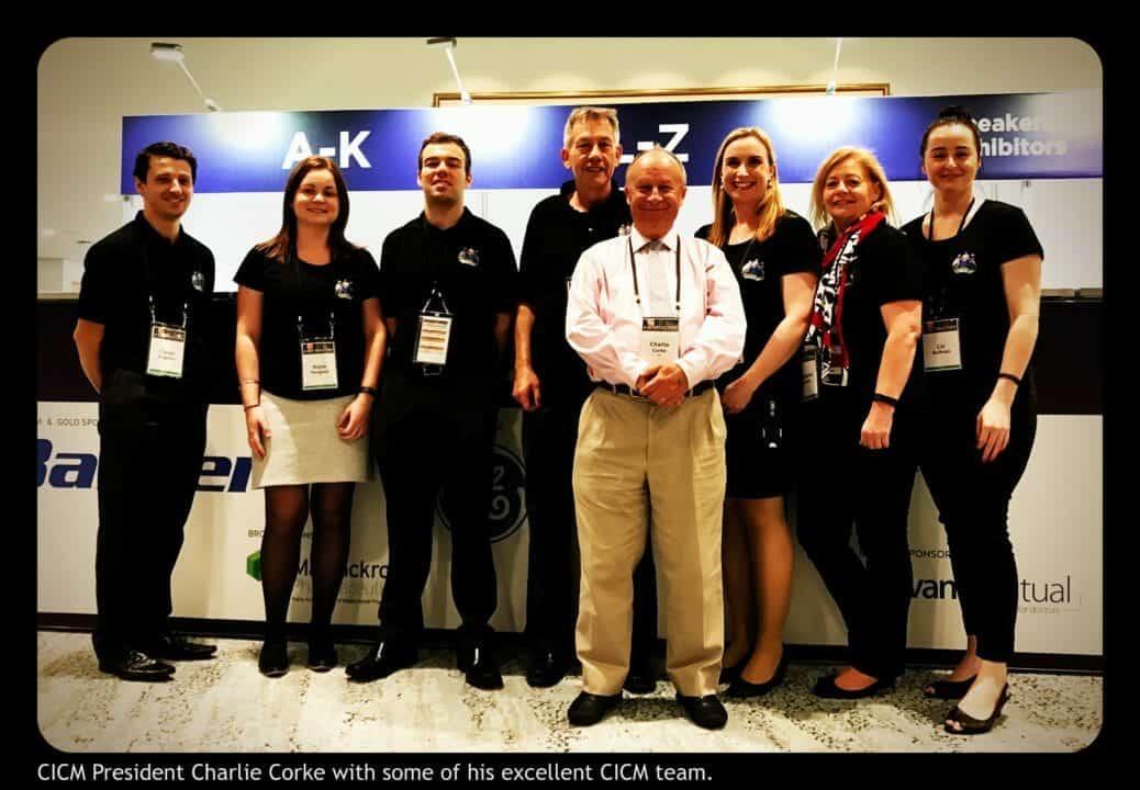 Associate Professor Charlie Corke and Team