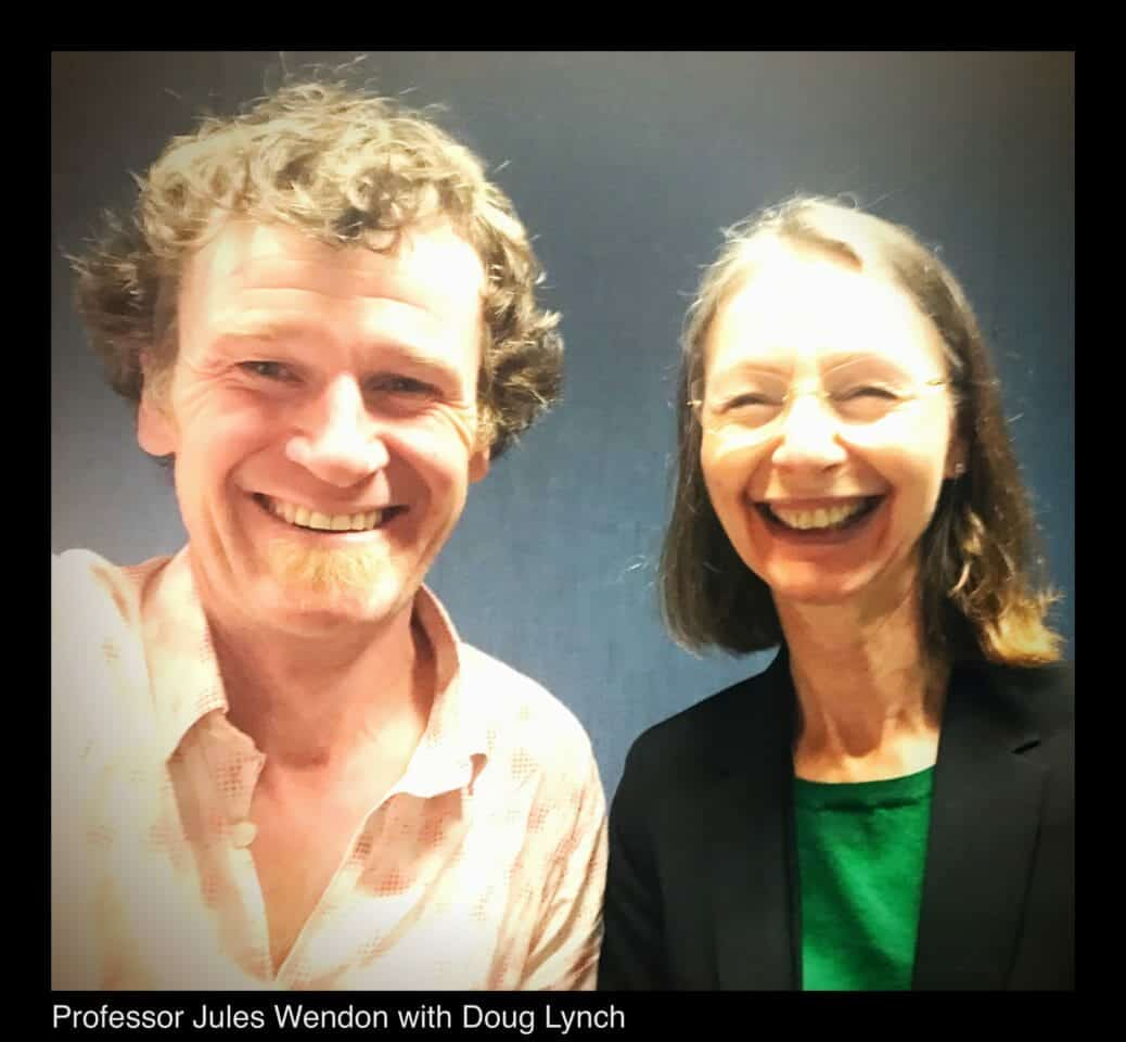 Professor Jules Wendon and Doctor Doug Lynch