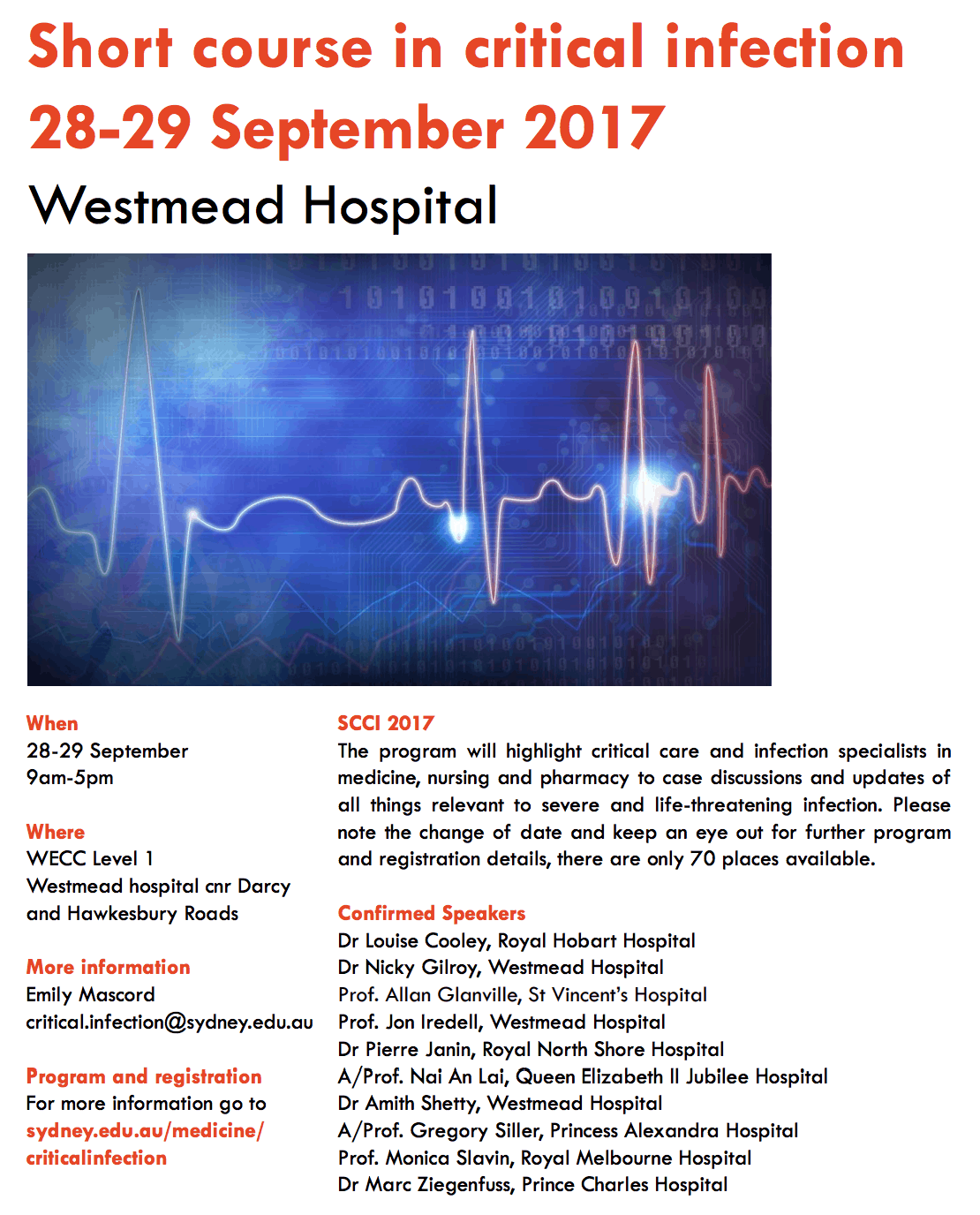 Short course in critical infection - Intensive Care Network