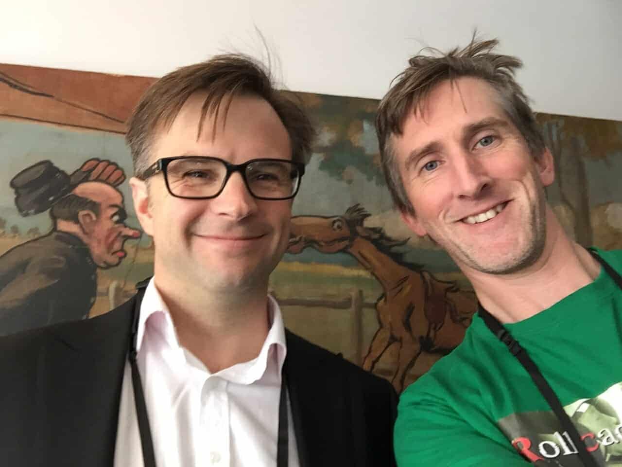Matt McPartlin talks to Toby Fogg