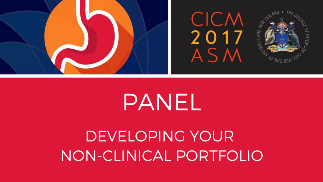 Panel - Developing a non-clinical portfolio