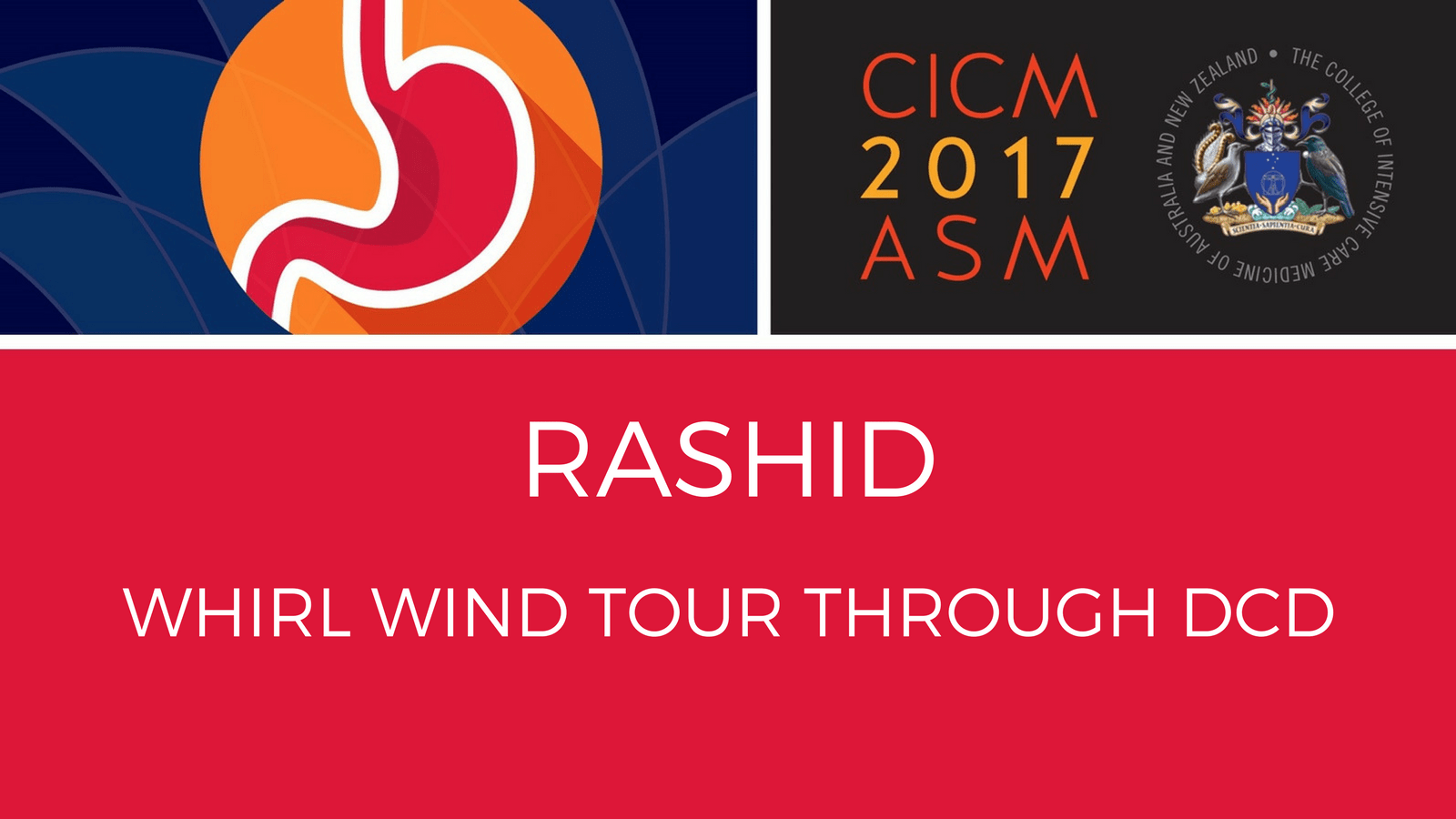 Whirl wind tour through DCD