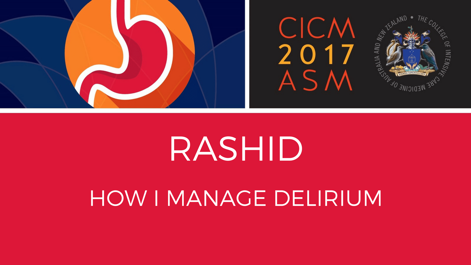 How I manage delirium by Dr Nudrat Rashit