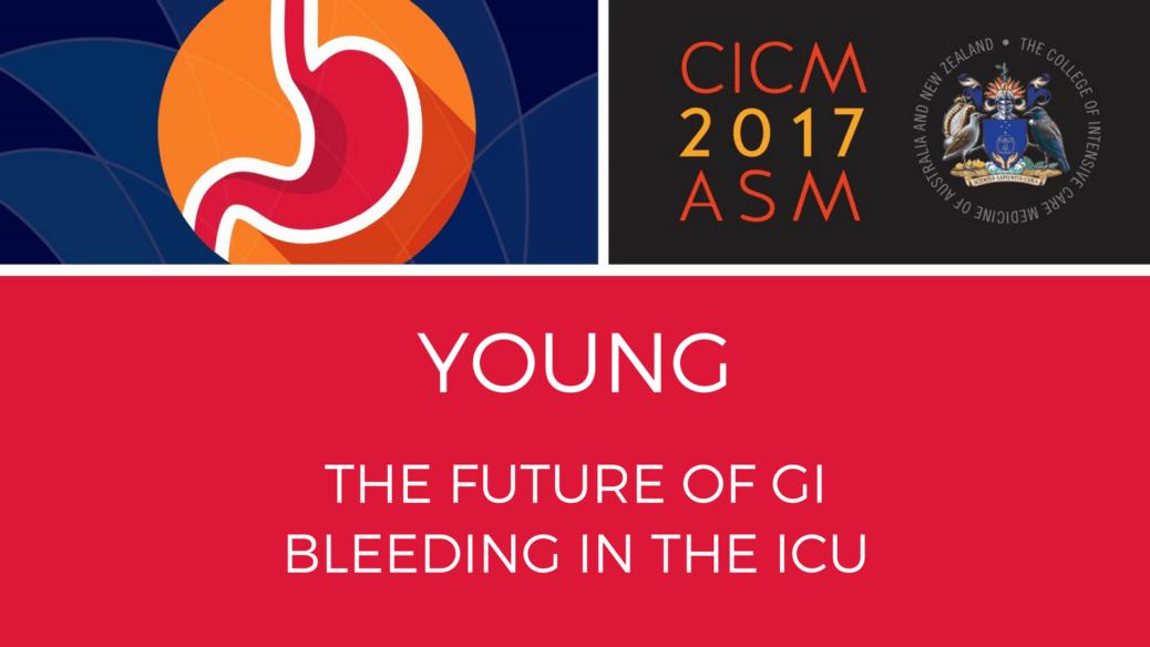 The future of GI bleeding in the ICU