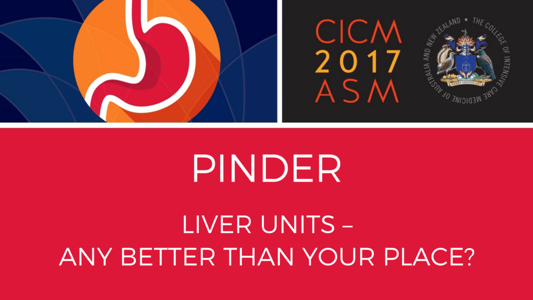 Liver units – any better than your place?