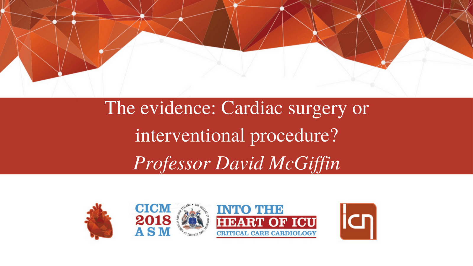 The evidence: Cardiac surgery or interventional procedure?