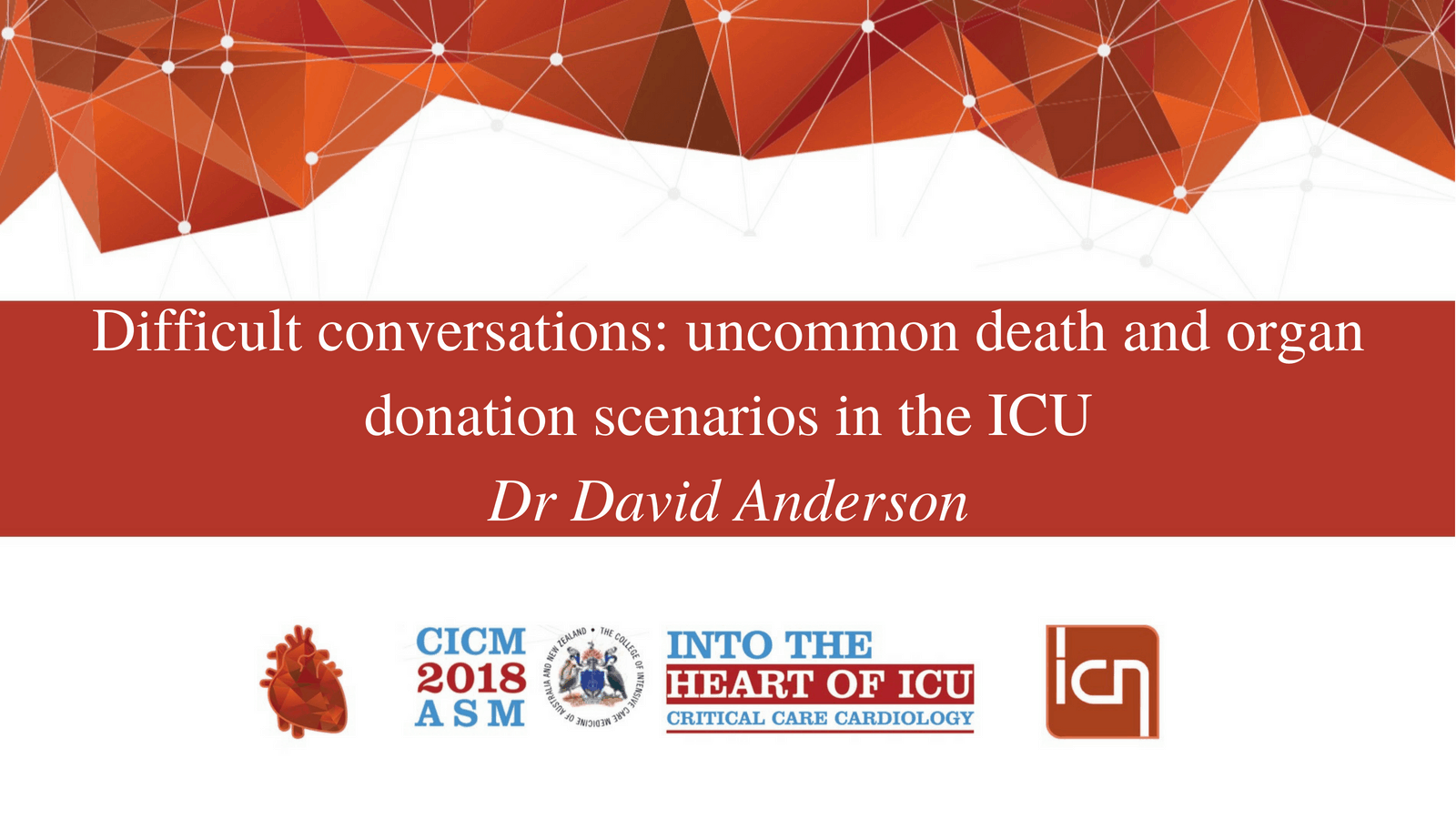 Difficult conversations: uncommon death and organ donation scenarios in the ICU.