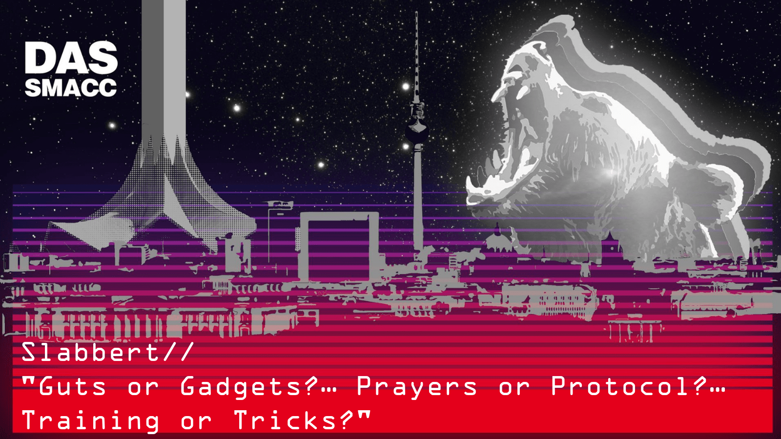 Guts or Gadgets?… Prayers or Protocol?… Training or Tricks?
