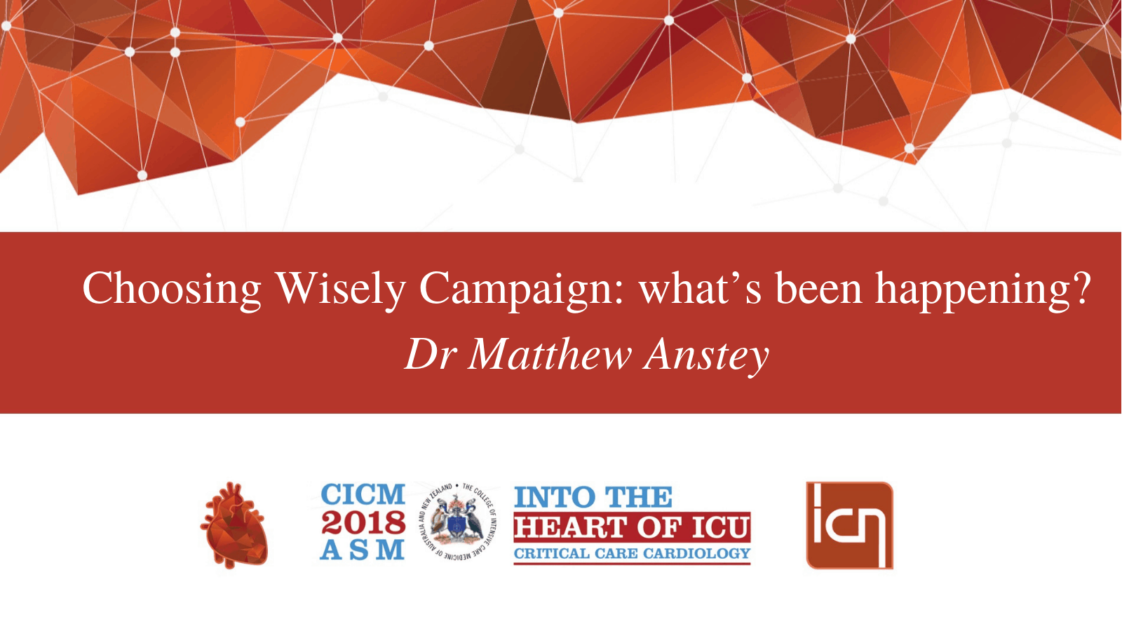 Choosing Wisely Campaign: what's been happening?