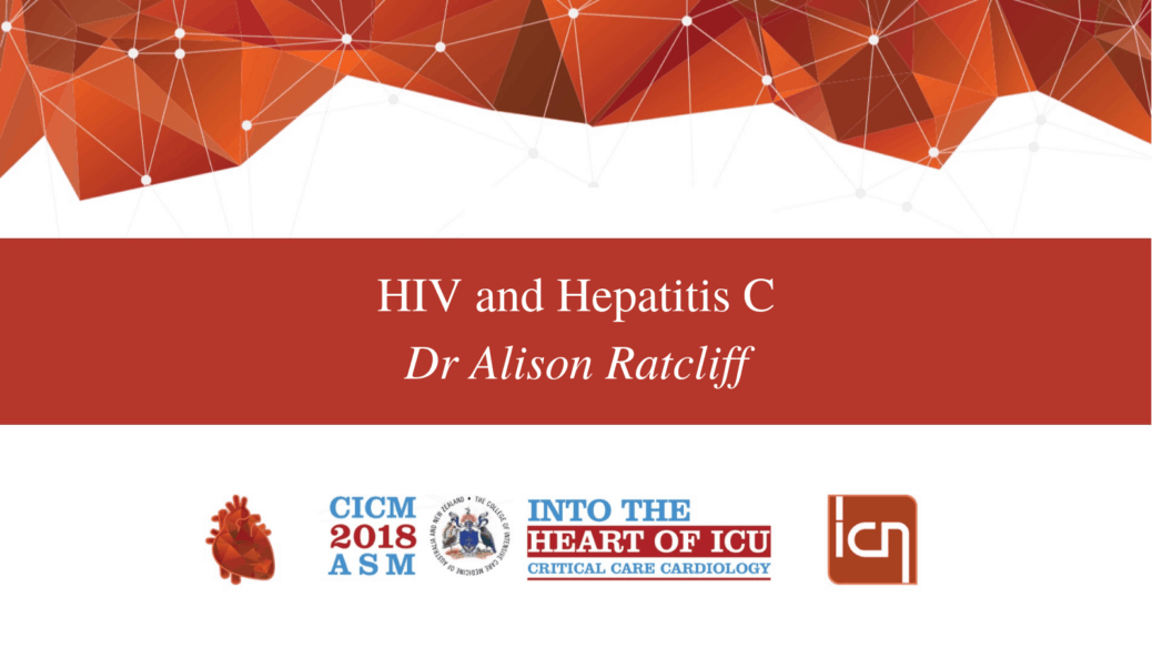HIV and Hepatitis C