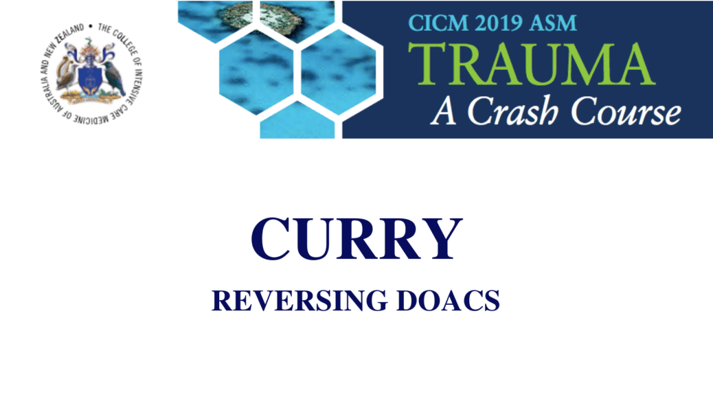 Reversing DOACS