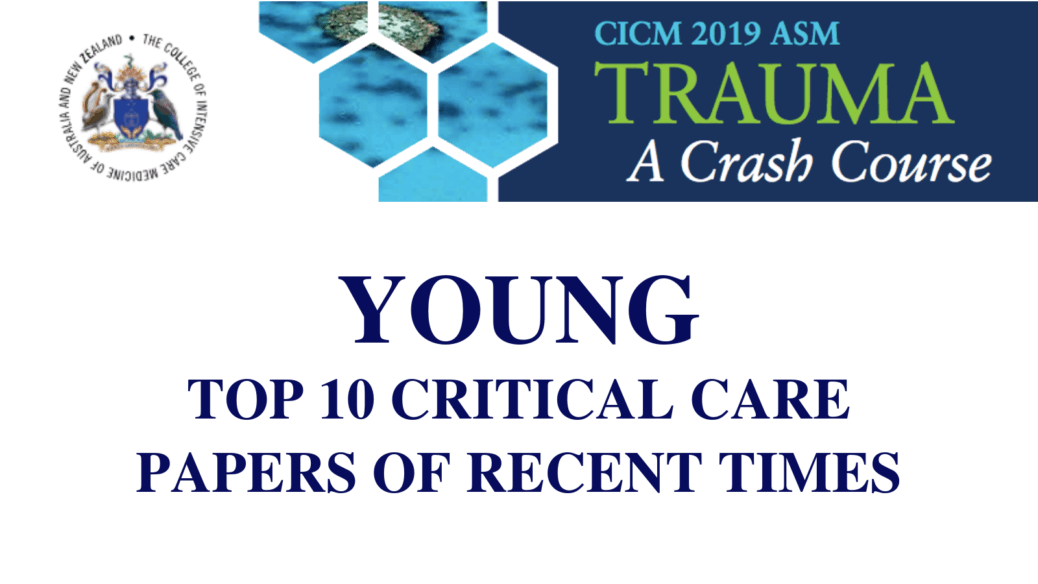 Top 10 critical care papers