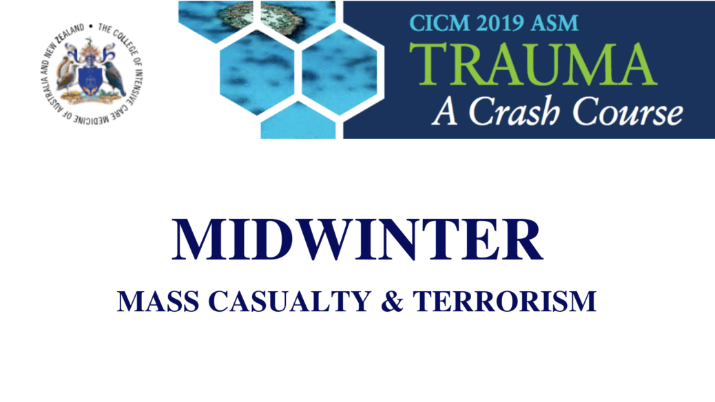 Mass Casualty & Terrorism