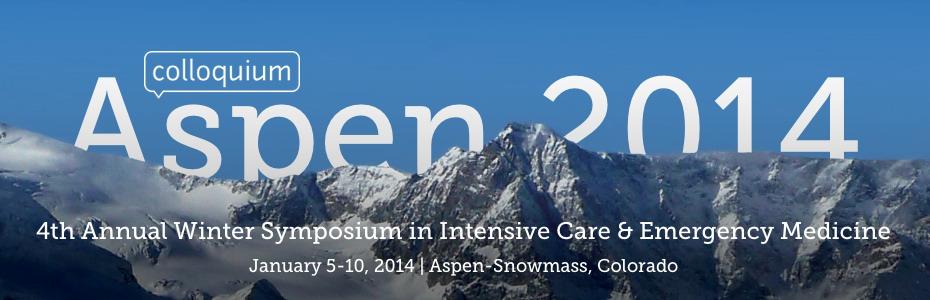 Aspen Colloquium 2014