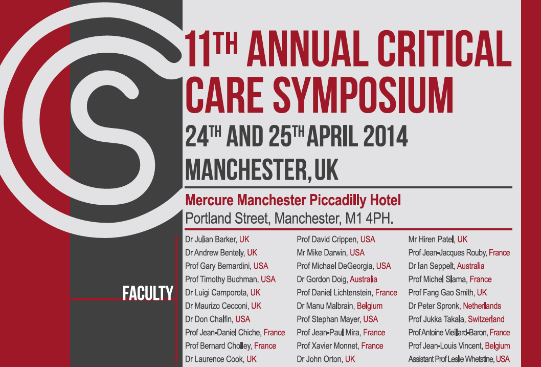 Manchester Crit Care Symposium